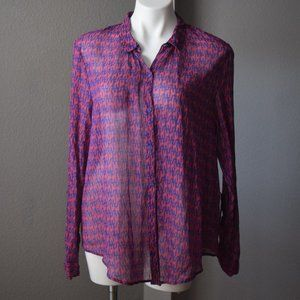 Anthropologie Hei Hei Giraffe Shirt Size Large